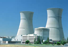 Sacramento Municipal Utility District's nuclear cooling towers