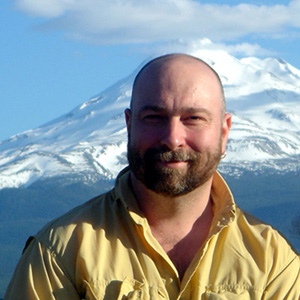 Wayne Powell at Mt. Shasta