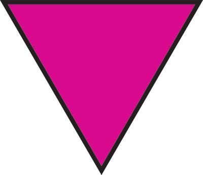 Gay Symbol Triangle 10