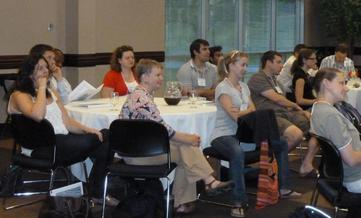 Participants at 2012 Preparing for an Academic Career workshop