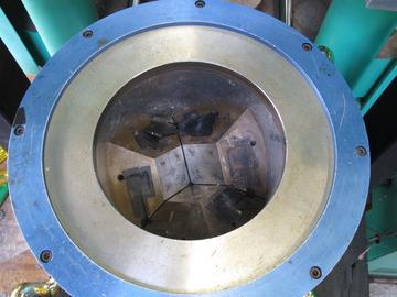 First Stage Anvils in the Kennedy Walker Split Cylinder Apparatus