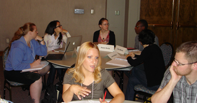 Participants at the 2011 Early Career workshops