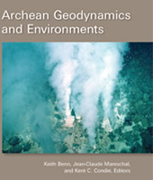 "Image of the cover of the AGU special volume, ""Archean Geodynamics and Environments"""