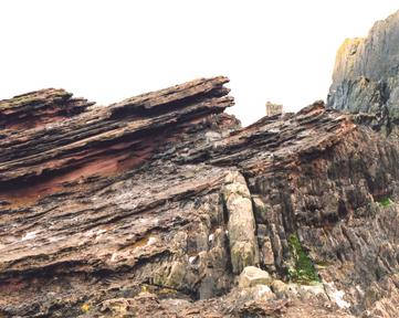 Hutton\'s Unconformity, Siccar Point