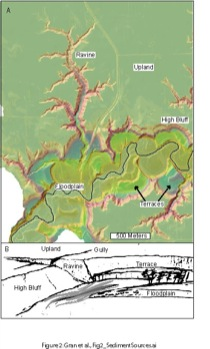 LiDAR coverage of lower Le Sueur River