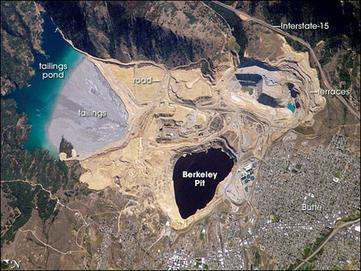 Berkeley Pit in Butte