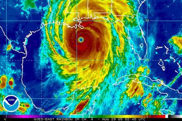 Hurricane Katrina: The Storm