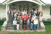 Participants at geology and human health workshop