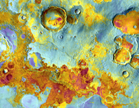 THEMIS image of Meridiani Planum, Mars