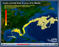 Ocean currents likely to carry oil to Atlantic