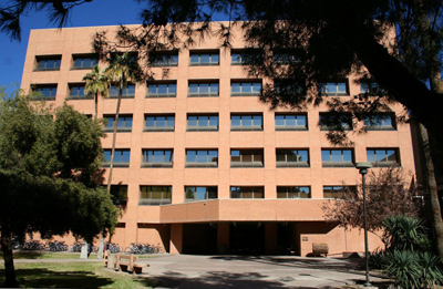 Bateman Physical Sciences on ASU Tempe campus