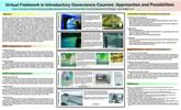 Thumbnail image of poster: Virtual Fieldwork in Introductory Geoscience Courses: Approaches and Possibilities