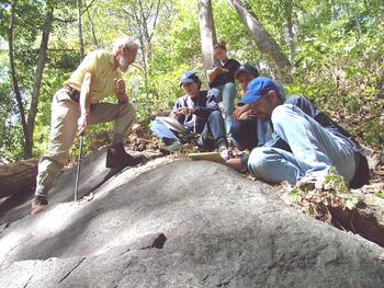 Queens College, CUNY, geology field trip