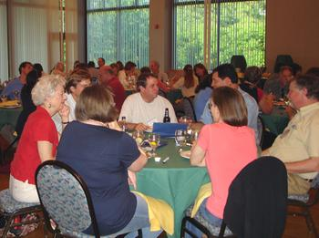 opening dinner, june 09 depts workshop