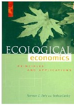 "Cover of book ""Ecological Economics"""