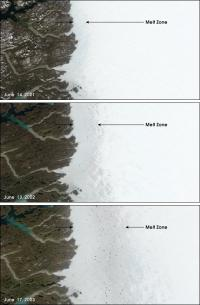 Surface melting of the Greenland Ice Sheet
