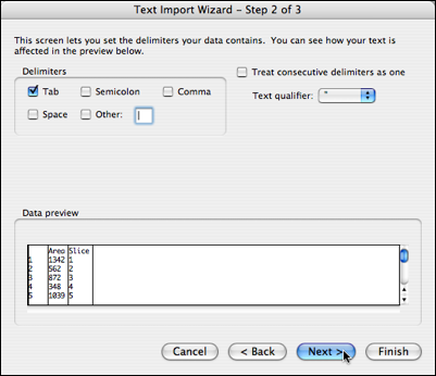 text import wizard 2
