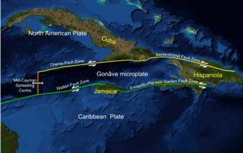 Screen shot from Nasa WorldWind software of NW Caribbean area