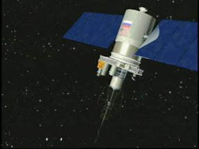 Meteor3 satellite equipped with ozone-measuring equipment
