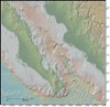 Bathymetry Map of Southern Gulf of California