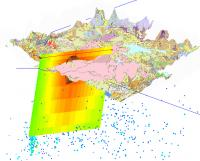 3D image of Earth Science data