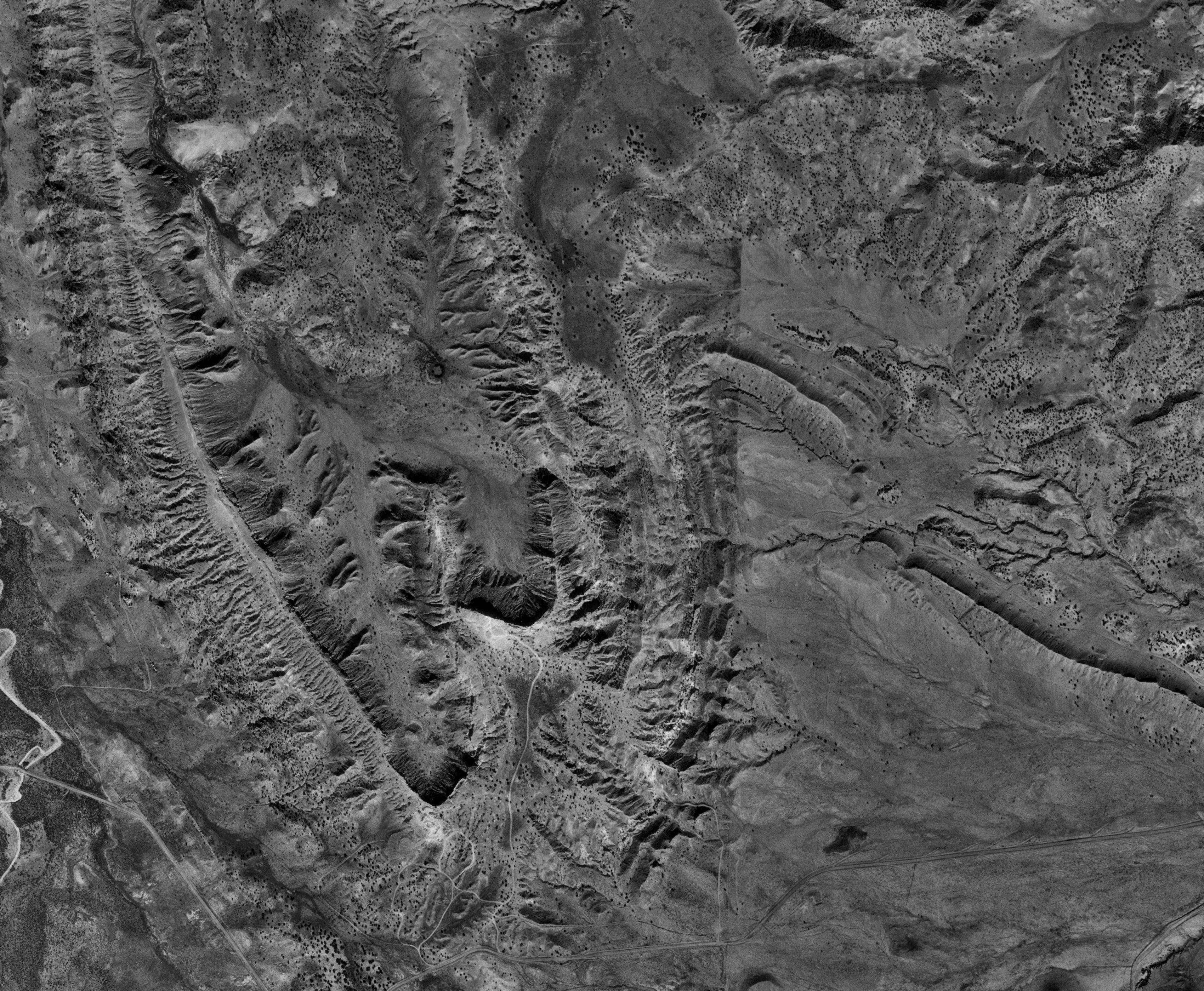 Catalog of maps black and white aerial photography