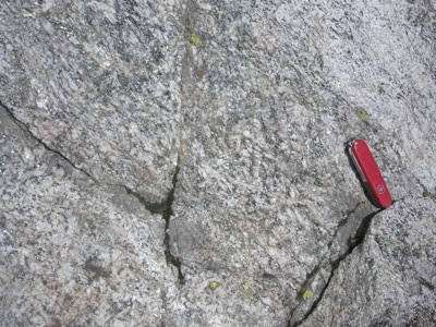 Sillimanite Gneiss, Bear Basin