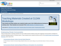 Go to http://cleanet.org/clean/community/activities.html