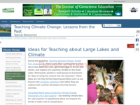 Go to /dev/NAGTWorkshops/climatechange/lakes_ideas.html