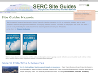 Go to /serc/site_guides/hazards.html