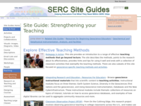 Go to /serc/site_guides/strengthen_teach.html