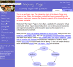 Inquiry Page Screenshot