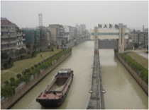 Figure 4: Deqing ship lock