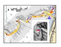 Raster Subtraction of Monterey Canyon Bathymetry