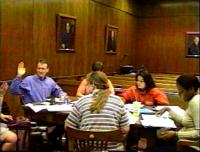 Mock trial deposition